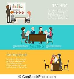 スタイル, infographic, ビジネス 人々