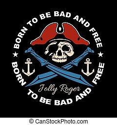 スタイル, true., 紋章, 頭骨, elements., quotes., 滞在, 武器, wars., ギャング...