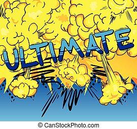 スタイル, word., -, 本, ultimate, 漫画
