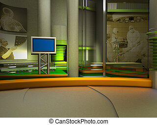 スタジオ, tv