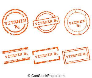 スタンプ, ビタミン b3
