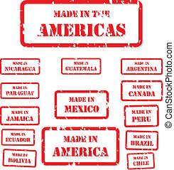スタンプ, 作られた, アメリカ