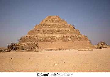 ステップ, ピラミッド, djoser