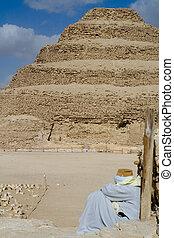 ステップ, ピラミッド, saqqara