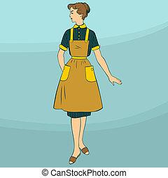 ステレオタイプ的な主婦