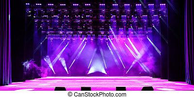 ステージ, コンサート