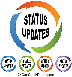 ステータス, updates