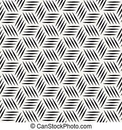 ストライプ, 立方体