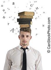 ストレス, 中に, ∥, 勉強しなさい