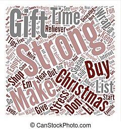 ストレス, 概念, 単語, 単純である, テキスト, 救助, 背景, 先端, クリスマス, 雲