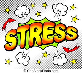 ストレス, 泡, 効果