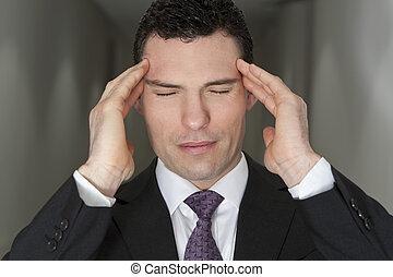 ストレス, 経営者