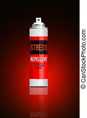 ストレス, concept., 救助