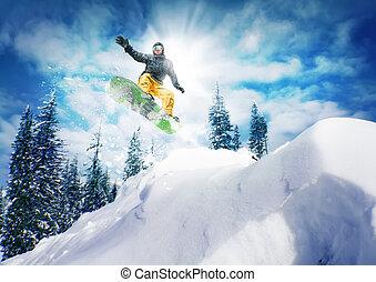 スノーボーダー, ジャンプ