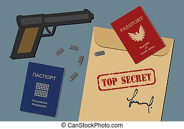スパイ活動