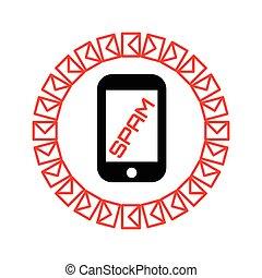 スパムしなさい, 概念, ∥で∥, メール, そして, 電話