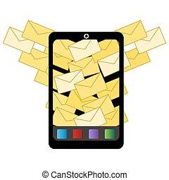 スパムしなさい, 電子メール, アイコン