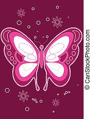 スパンコール, butterfly.