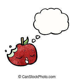 スピーチ泡, 漫画, アップル