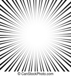 スピード, グラフィック, ライン, 効果, 放射状