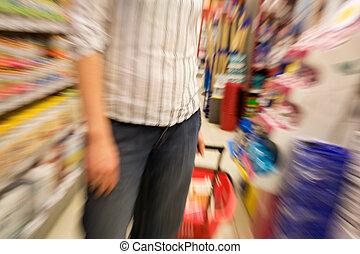 スピード, 買い物