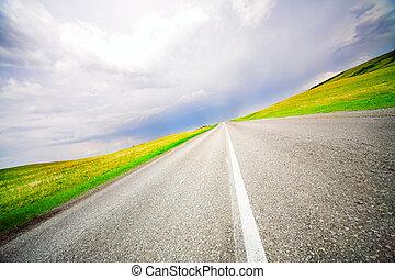 スピード, 道