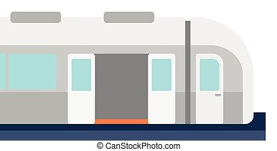 スピード, train., 現代, 高く