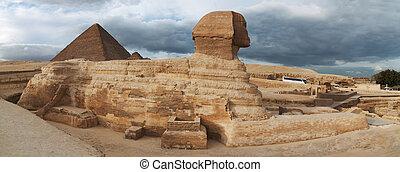 スフィンクス, エジプト人