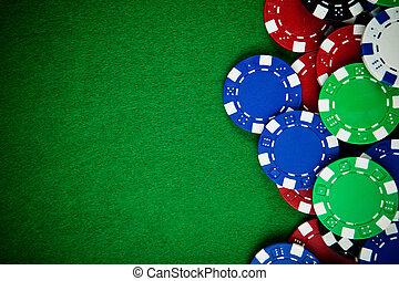 スペース, カジノ, コピー, チップ, ギャンブル