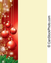 スペース, コピー, クリスマス, 背景