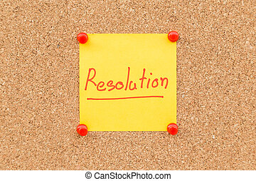スペース, ブランク, text., 付せん, 年, 新しい, resolutions