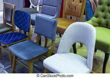 スペース, 家具, 椅子, 小売り店, ディスプレイ