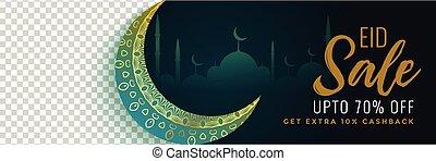 スペース, 祝祭, イメージ, セール, イスラム教, eid, 旗