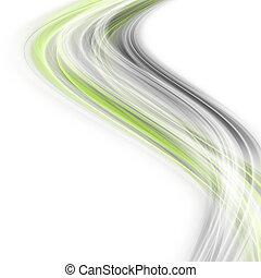スペース, eco, テキスト, 抽象的, 優雅である, デザイン, 背景, あなたの