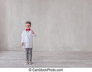 スポイト, わずかしか, 医者