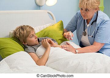 スポイト, 小児科医