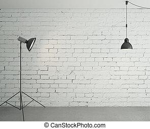 スポットライト, そして, ランプ