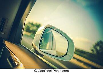 スポット, 自動車, bling, 鏡
