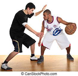 スポーツマン, バスケットボール, 2, 遊び