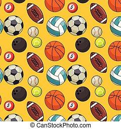 スポーツ, カラフルである, 背景