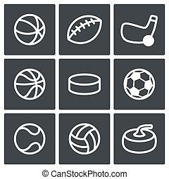 スポーツ, コレクション, アイコン
