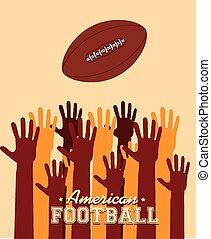スポーツ, ベクトル, illustration., デザイン