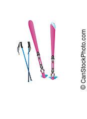 スポーツ, 冬, スキー