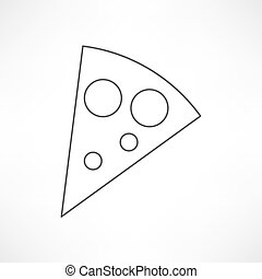 スライス, ピザ