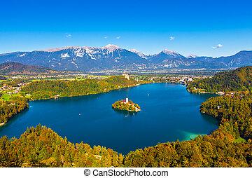 スロベニア, 湖, 出血させる