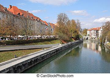 スロベニア, ljubljanica, 川