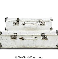 スーツケース, 隔離された, 2