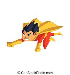 スーパーヒーロー, 漫画, 男の子