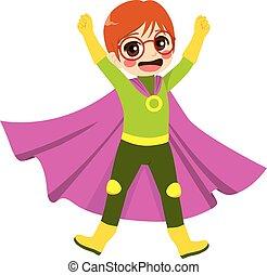 スーパーヒーロー, nerd