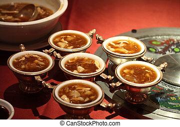 スープ, サメバリ